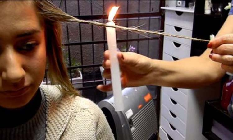 Κερί κατά της... ψαλίδας