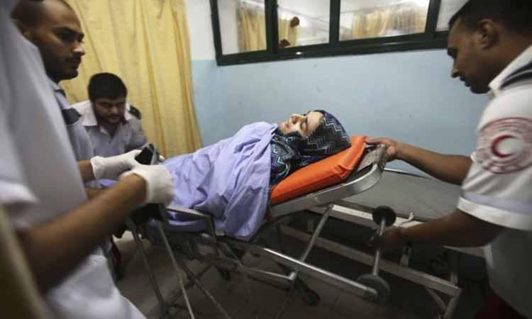 Αεροπορικό σφυροκόπημα στη Λωρίδα της Γάζας