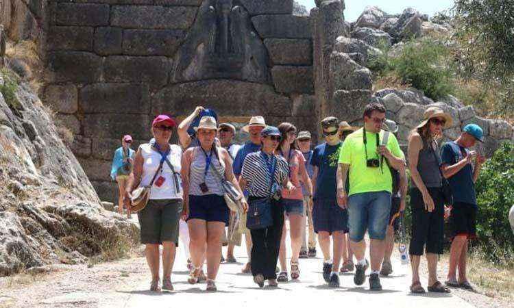Αύξηση 16% των τουριστών το α' τρίμηνο