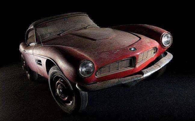 Η μοναδική BMW 507 του Elvis Presley