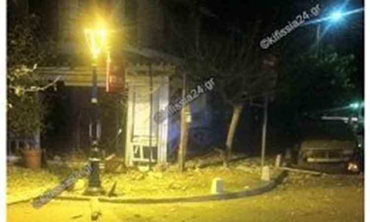 Ισχυρή έκρηξη σε εστιατόριο στην Κηφισιά