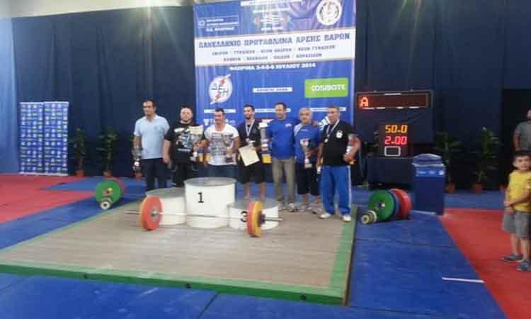 Ολοκληρώθηκε το πανελλήνιο πρωτάθλημα Άρσης Βαρών στη Φλώρινα