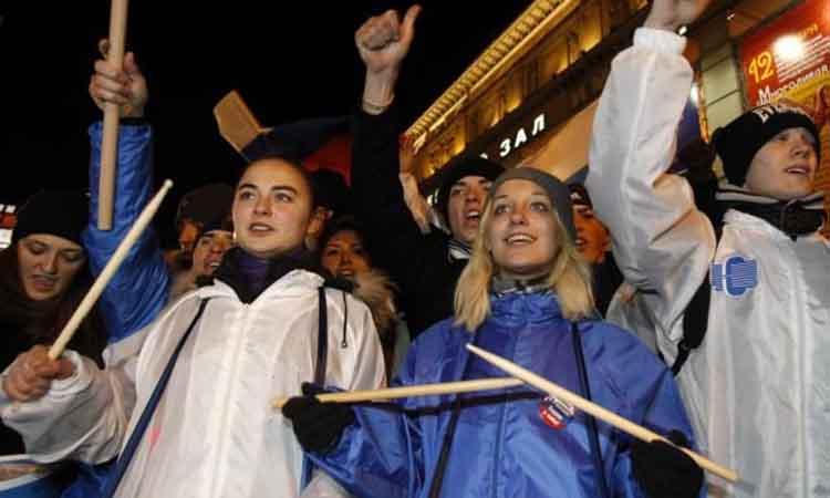 Τιμωρείται στη Ρωσία η επανειλημμένη διοργάνωση διαδηλώσεων χωρίς έγκριση