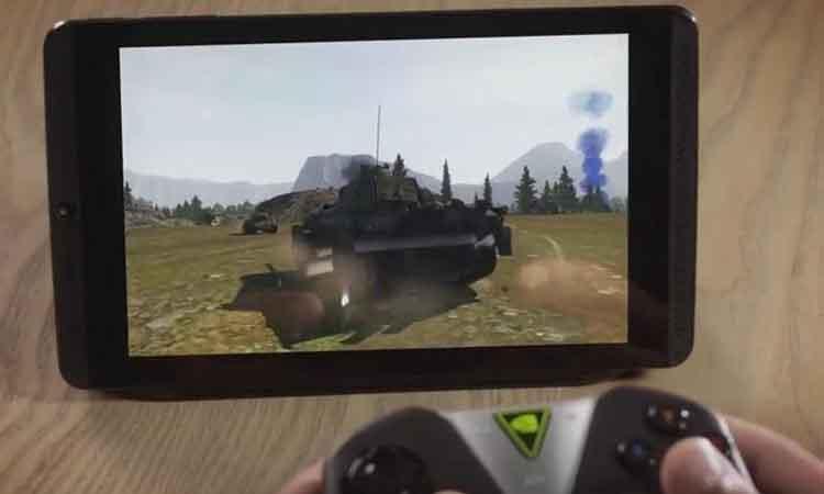 Tablet για gamers παρουσίασε η Nvidia