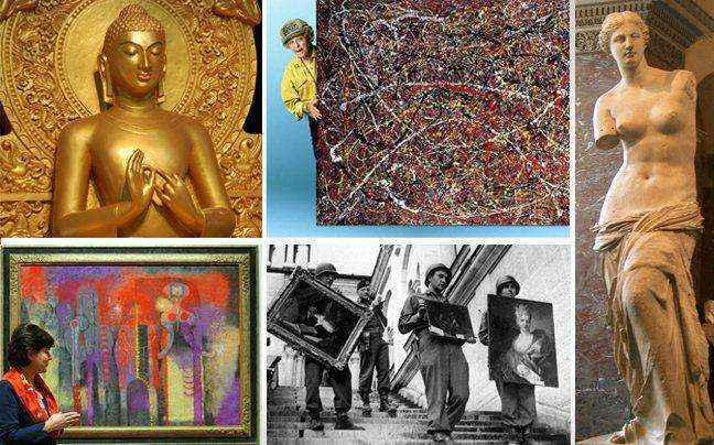 Ανεκτίμητα έργα τέχνης στα πιο περίεργα μέρη