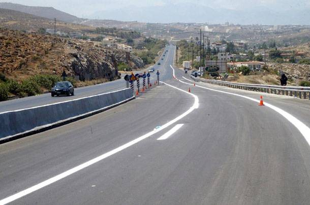 Η Κρήτη αναζητά κονδύλια για την αναβάθμιση των οδικών αξόνων της