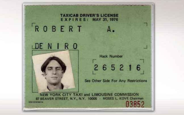 Κι όμως ο Ρόμπερτ Ντε Νίρο είχε άδεια ταξί
