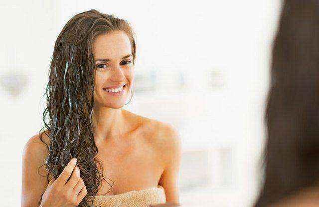 Μάσκα για λαμπερά και υγιή μαλλιά