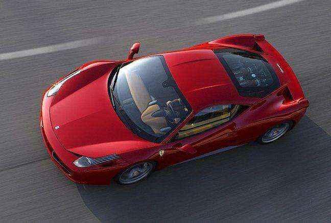 Με κινητήρα turbo η νέα Ferrari 458 Italia