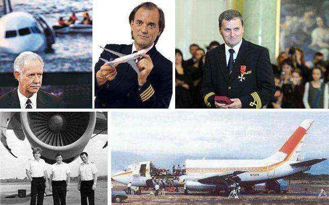 Παράτολμοι πιλότοι σε μανούβρες που έσωσαν ζωές