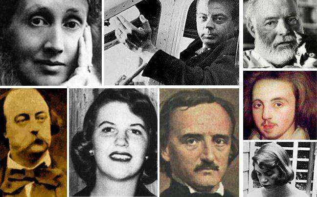Περίεργοι θάνατοι διάσημων συγγραφέων