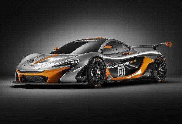 Πρεμιέρα για τη McLaren P1 GTR