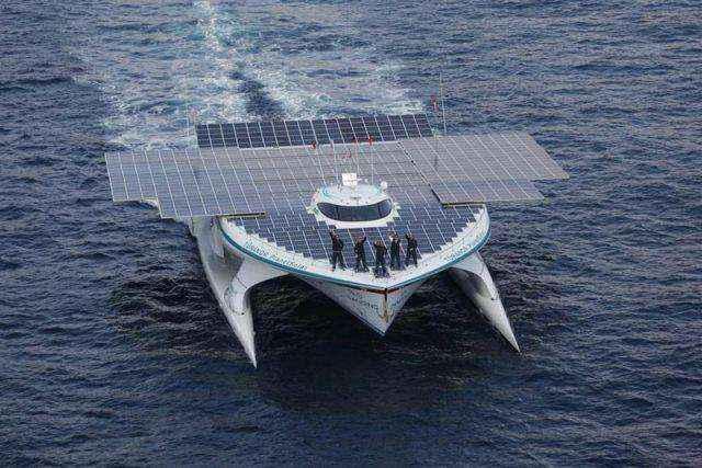 Το μεγαλύτερο ηλιακό σκάφος στον κόσμο θα ερευνήσει τον βυθό της Αργολίδας