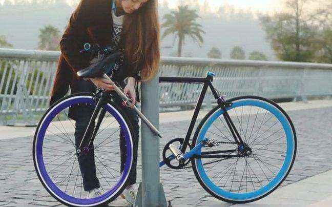 Το ποδήλατο που δεν κλέβεται με τίποτα