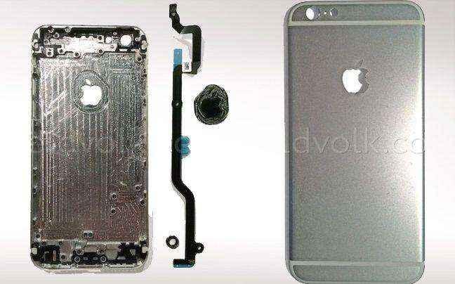 Φωτογραφίες δείχνουν iPhone 6 με ενσωματωμένο λογότυπο