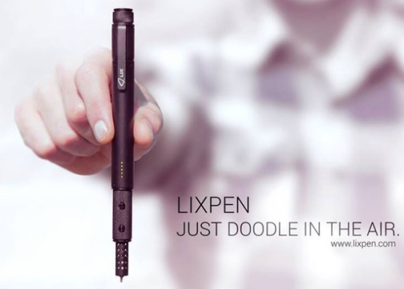 LIX: Ένα στυλό για 3D printing τσακίζει κάθε ρεκόρ στο Kickstarter [Video]