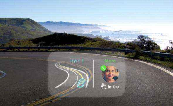 Navdy: Η συσκευή HUD που προβάλει πληροφορίες του smartphone και του αυτοκινήτου στο παρμπρίζ [Video]