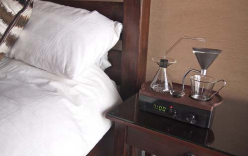 The Barisieur: Το ξυπνητήρι που σου φτιάχνει καφέ!