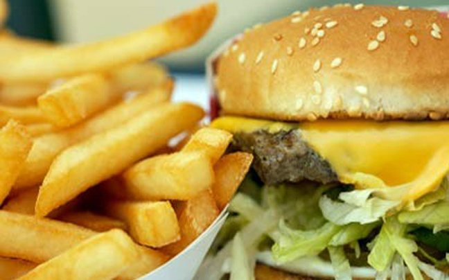To fast food πληγώνει το DNA