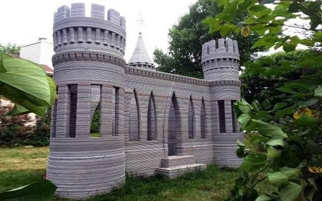 «Έχτισε» το πρώτο κάστρο σε τρισδιάστατο εκτυπωτή