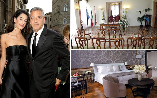 Ένα… ελληνικό παλάτι θα φιλοξενήσει το γάμο του Κλούνεϊ