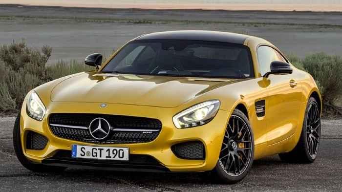 Αυτή είναι η νέα Mercedes AMG GT