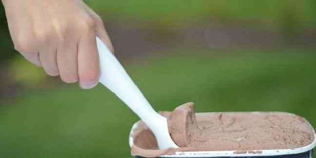 Μηχανικός σχεδίασε το τέλειο κουτάλι για το παγωτό