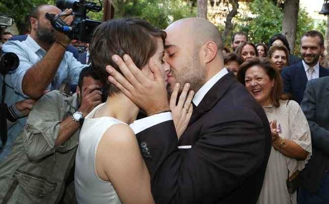 Ο λαμπερός θρησκευτικός γάμος του Κωνσταντίνου Μπογδάνου