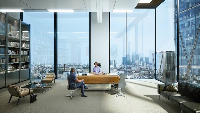 Πώς θα είναι τα καινούρια γραφεία της Amazon στο Λονδίνο