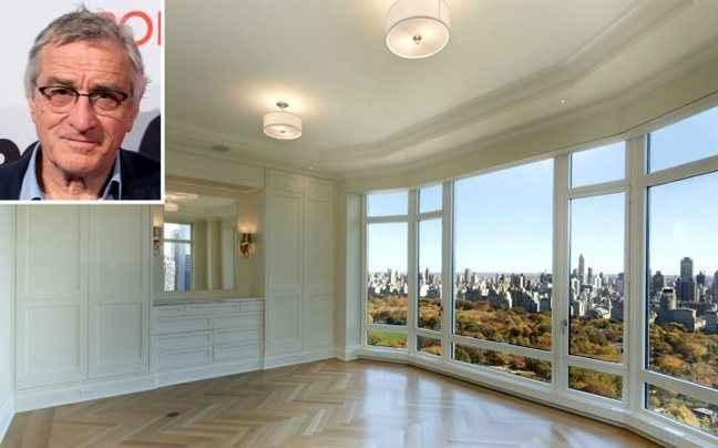 Το νέο «φτωχικό» διαμέρισμα του Ρόμπερτ Ντε Νίρο