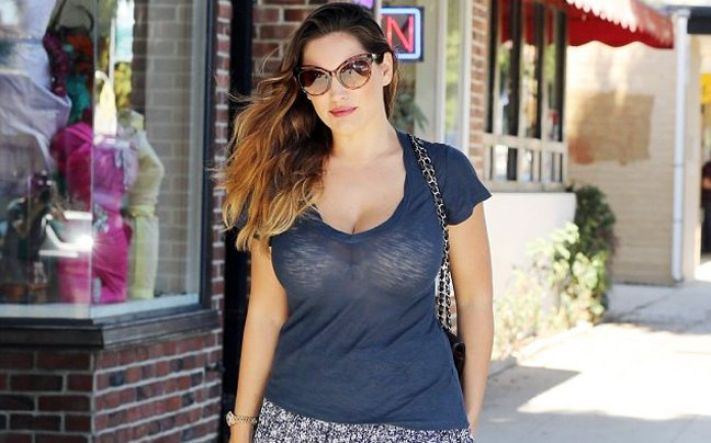 Το see through της Kelly Brook