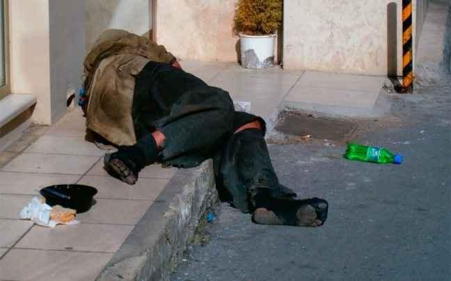 Άρρωστοι οι περισσότεροι άστεγοι σε Ευρώπη και ΗΠΑ