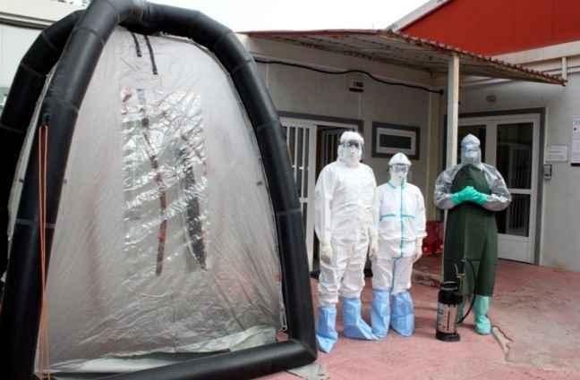 Άσκηση στο «Αμαλία Φλέμινγκ» για τον Έμπολα
