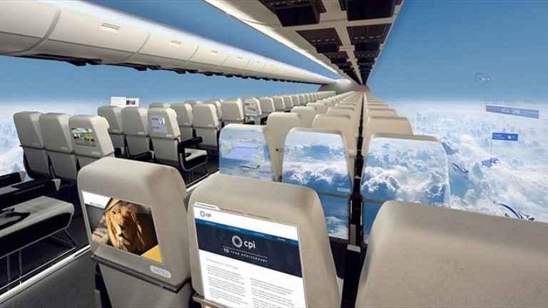 Έρχονται τα αεροπλάνα χωρίς παράθυρα