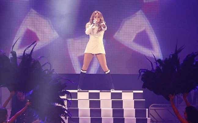 Εκρηκτική η Jennifer Lopez στο Βανκούβερ