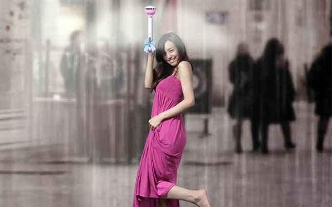 Η αόρατη… ομπρέλα