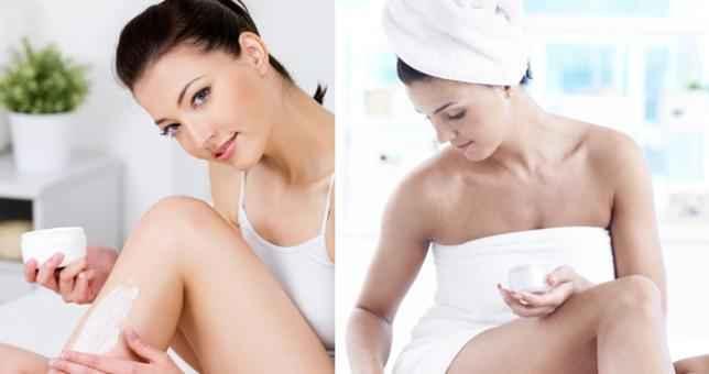 Η σωστή ποσότητα κρέμας σώματος για τέλειο δέρμα
