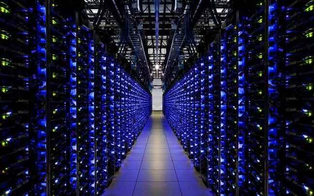 Ξενάγηση στο κέντρο δεδομένων της Google