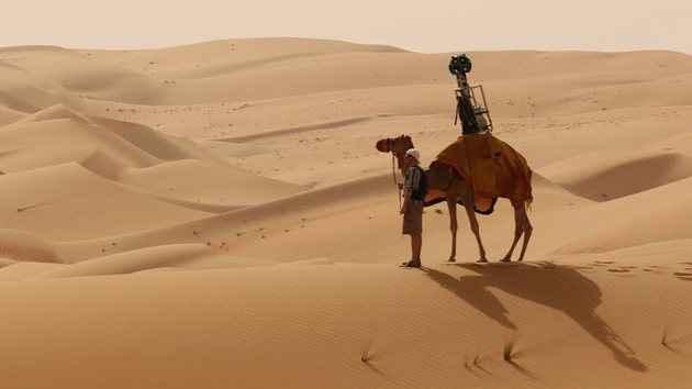 Οι χάρτες της Google «εξερευνούν» την έρημο Λίβα