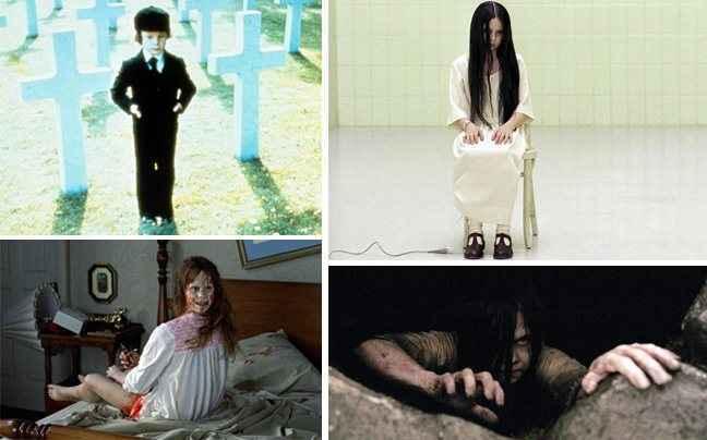Παιδιά που έπαιξαν σε ταινίες τρόμου