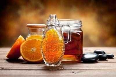 Πορτοκάλι και μέλι για απαλά χέρια