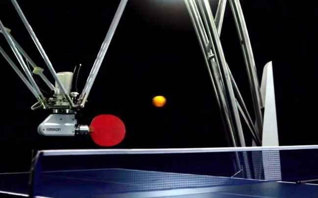 Το ρομπότ-άσος του πινγκ πονγκ