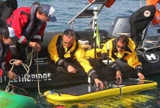 Υδρόβια ρομπότ για θαλάσσιες έρευνες