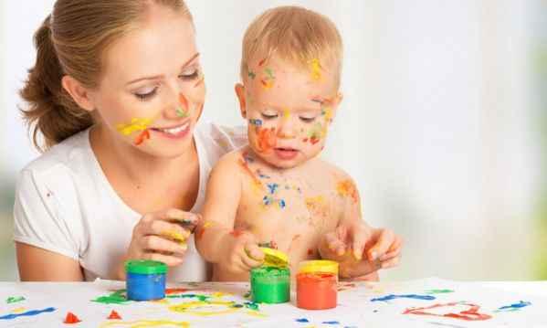 5 τρόποι για να ενισχύσετε την δημιουργικότητα του μωρού σας!