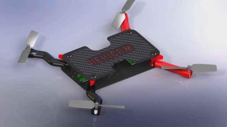 Drone... τσέπης με ενσωματωμένη κάμερα