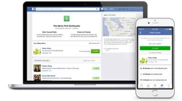 Facebook Safety Check: Νέο εργαλείο για να δηλώνεις ότι είσαι ασφαλής σε περίπτωση φυσικής καταστροφής