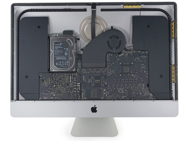 O νέος Retina iMac δέχεται αναβαθμίσεις στην Ram όπως έδειξε το iFixit