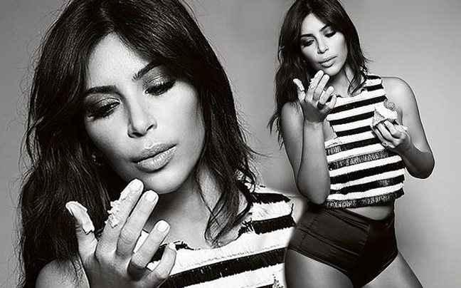 Η Kim Kardashian απολαμβάνει μία γλυκιά αμαρτία