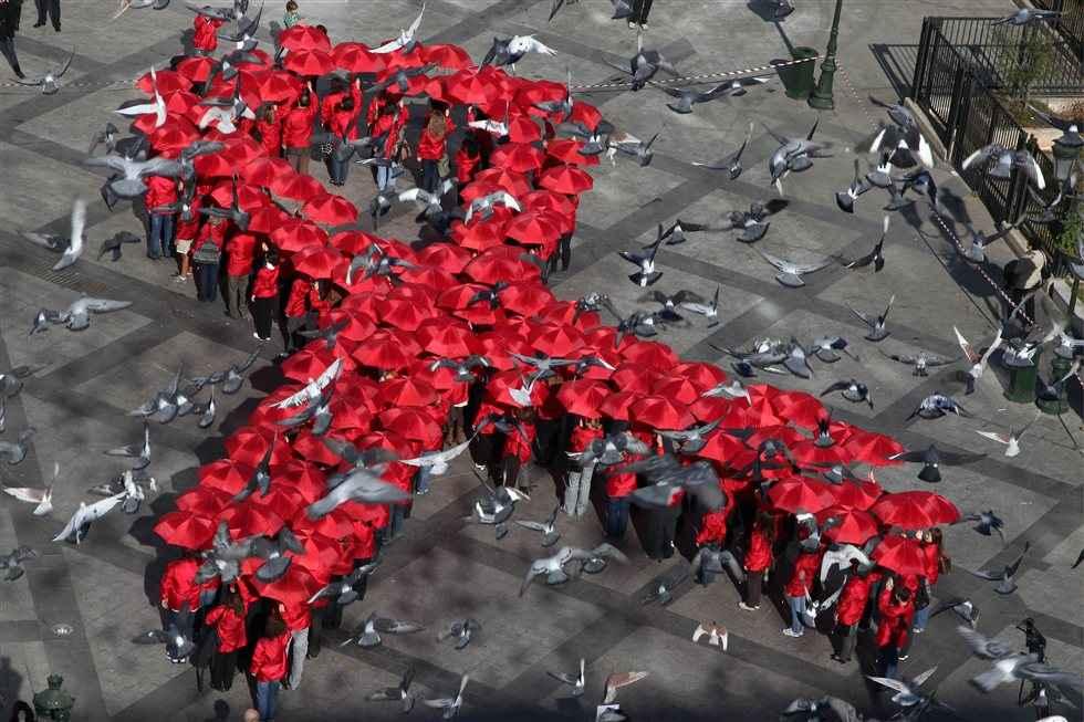 Κινητοποίηση ΚΕΕΛΠΝΟ και ΙΕΚ ΑΚΜΗ για το AIDS