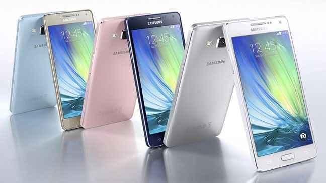 Νέα smartphones από τη Samsung με μεταλλική κατασκευή